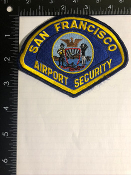 SAN FRANCISCO CA AIRPORT SECURITY PATCH