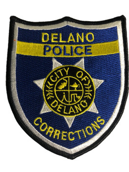 DELANO POLICE CORRECTIONS CA PATCH BLUE