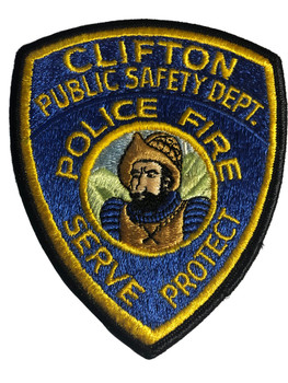 CLIFTON PUBLIC SAFETY CA PATCH