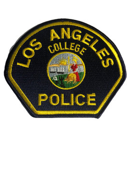 LOS ANGELES COLLEGE CA POLICE PATCH
