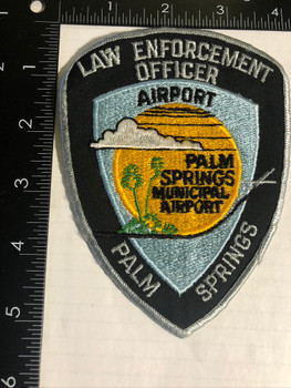 PALM SPRINGS CA AIRPORT POLICE PATCH