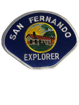 SAN FERNANDO POLICE  CA EXPLORER PATCH