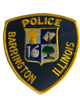 BARRINGTON POLICE IL PATCH