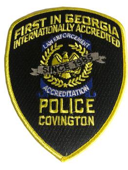 COVINGTON POLICE GA FIRST PATCH