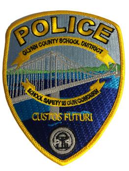 GLYNN CTY SCHOOL DISTRICT POLICE GA PATCH