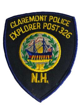 CLERMONT POLICE FL EXPLORER PATCH