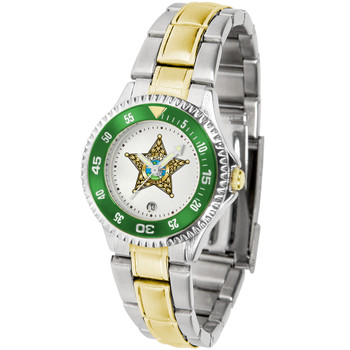 FLAGLER COMPETITOR LADIES TWO-TONE WATCH