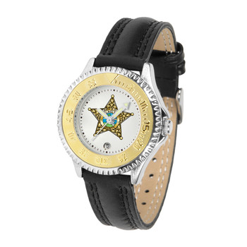 FLAGLER COMPETITOR LADIES LEATHER WATCH