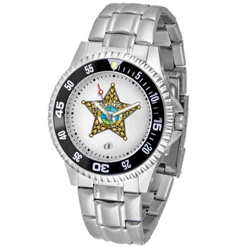 FLAGLER COMPETITOR MENS STEEL WATCH