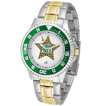 FLAGLER COMPETITOR MENS TWO-TONE WATCH