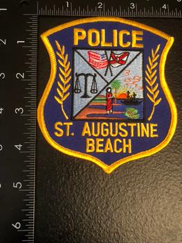 ST AUGUSTINE BEACH POLICE FL  PATCH