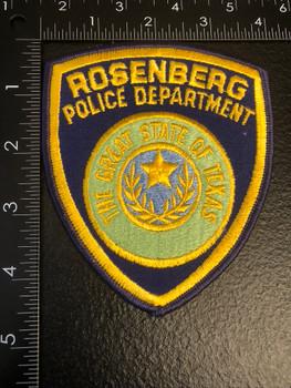 ROSENBERG POLICE TEXAS PATCH