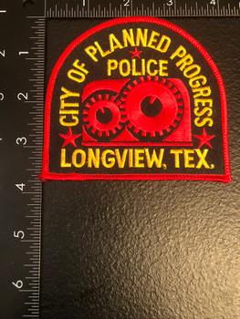 LONGVIEW POLICE TX PATCH
