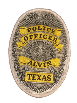 ALVIN POLICE TX PATCH