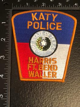 KATY POLICE TX PATCH