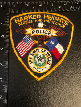 HARKER HEIGHTS POLICE TX PATCH