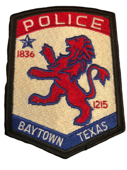 BAYTOWN POLICE TX PATCH