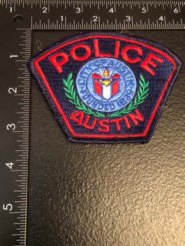 AUSTIN POLICE TX PATCH