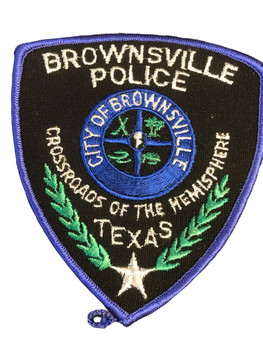 BROWNSVILLE POLICE TX PATCH