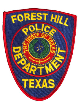 FOREST HILL POLICE TX PATCH