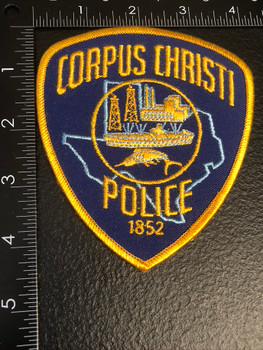 CORPUS CHRISTI POLICE TX PATCH