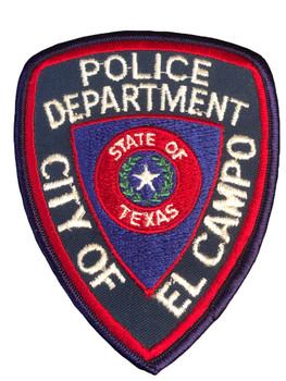 EL CAMPO POLICE TX PATCH