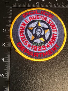 STEPHEN AUSTIN UNIV POLICE TX PATCH