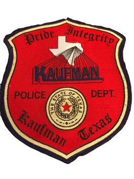 KAUFMAN POLICE TX PATCH
