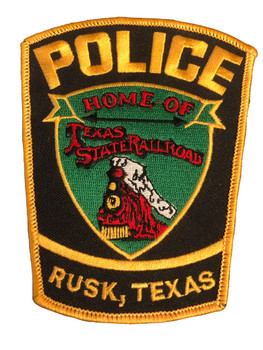 RUSK POLICE TX PATCH
