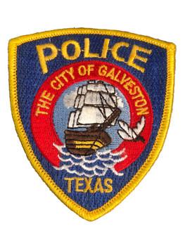 GALVESTON POLICE TX PATCH