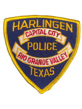 HARLINGEN POLICE TX PATCH