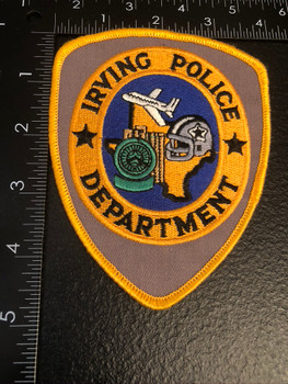 IRVING POLICE TX PATCH