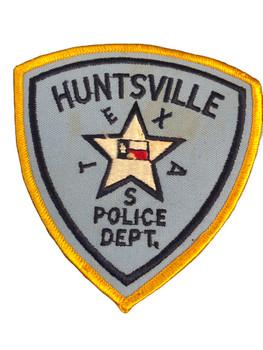 HUNTSVILLE POLICE TX PATCH