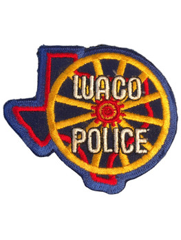 WACO POLICE TX PATCH