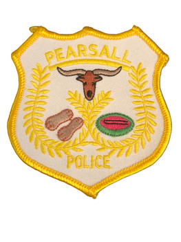 PEARSALL POLICE TX PATCH
