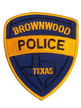 BROWNWOOD POLICE TX PATCH