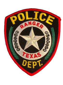 RANGER POLICE TX PATCH