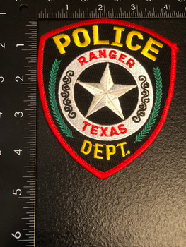 RANGER POLICE TX PATCH