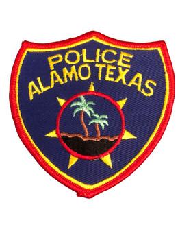ALAMO POLICE TX PATCH