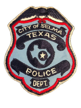 SELMA POLICE TX PATCH