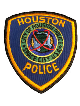 HOUSTON POLICE TX PATCH