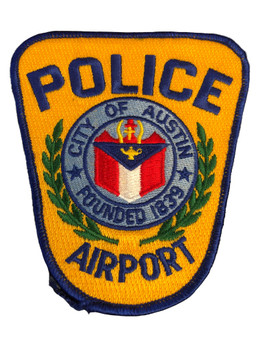 AUSTIN AIRPORT POLICE TX PATCH