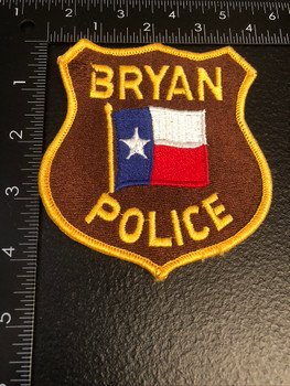 BRYAN POLICE TX PATCH