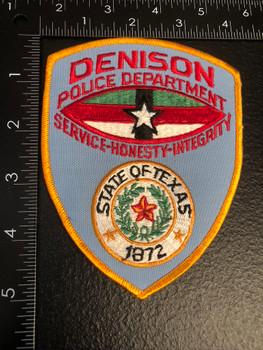 DENISON POLICE TX PATCH