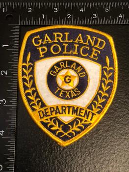 GARLAND POLICE TX PATCH