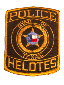 HELOTES POLICE TX PATCH