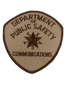 TEXAS DPS  COMMUNICATION  POLICE  PATCH