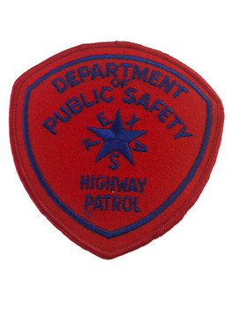 TEXAS DPS  HIGHWAY PATROL  PATCH POLICE