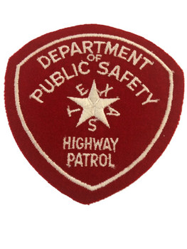 TEXAS DPS  HIGHWAY PATROL  2 PATCH