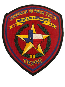 TEXAS DPS  TRAFFIC  PATCH POLICE